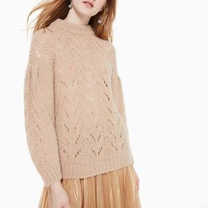Kate Spade Pointelle Stitch Sweater
